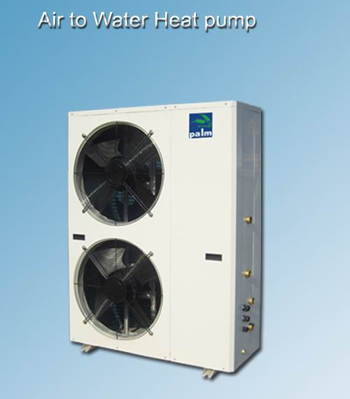 combined heating cooling and hot water air water heatpump