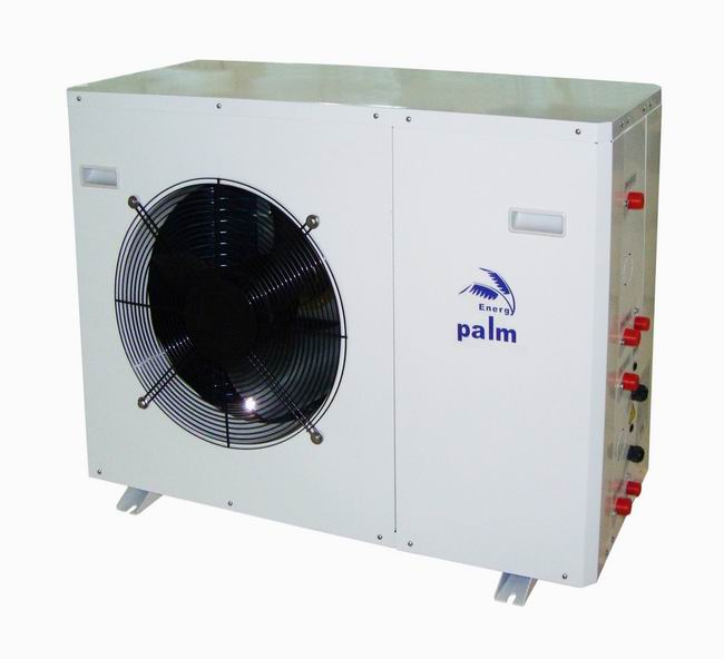 Palm Dual source multifunctional heat pump to use solar-ground together with air source-8KW