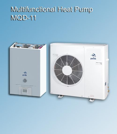 Palm Tritherma split heat pump,Similar function as LG Therma V split heat pump and Altherma split heat pumps