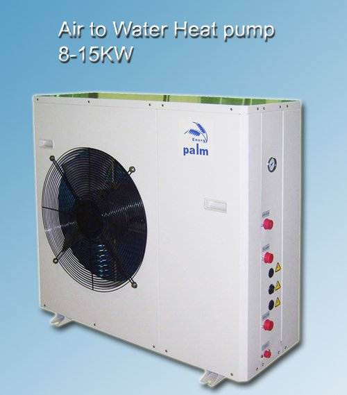 combined heating cooling and hot water heatpump