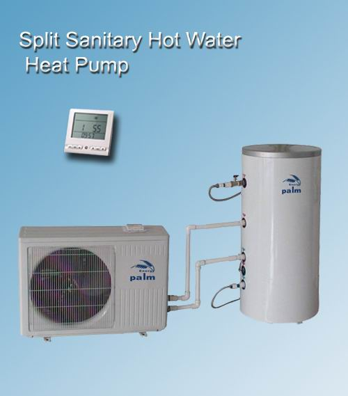 Palm Split Sanitary Hot Water Heat pump 2KW-3.5KW-4.5KW-7KW
