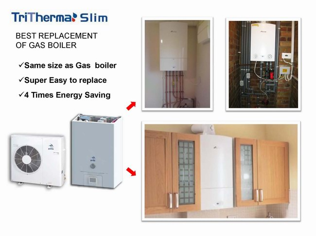 replace gas boiler with heat pump