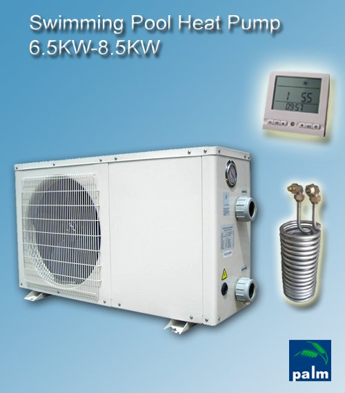 China Heat Pump Swimming Pool Heat Pump 6 5kw 8 5kw