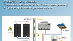 solar double source heat pump